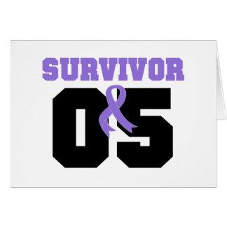 Hodgkins Lymphoma Survivor 05 Years Greeting Cards