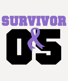 Hodgkins Lymphoma Survivor 05 Years Tshirt