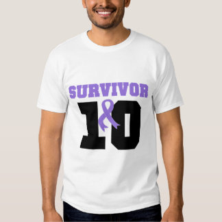 Hodgkins Lymphoma Survivor 10 Years T-shirt