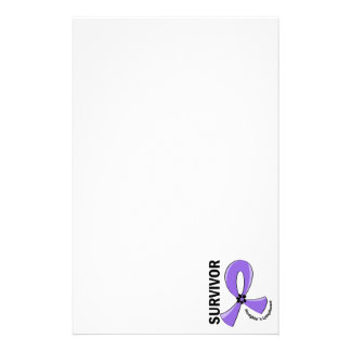 Hodgkin's Lymphoma Survivor 12 Stationery