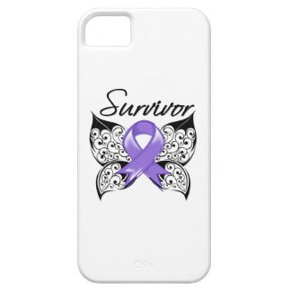 Hodgkins Lymphoma Survivor Butterfly iPhone 5 Covers