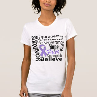 Hodgkins Lymphoma Survivor Collage T Shirt
