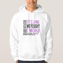 Hodgkins Lymphoma Survivor It Came We Fought I Won Hoodie