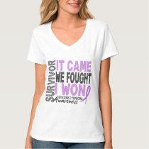 Hodgkins Lymphoma Survivor It Came We Fought I Won T Shirt