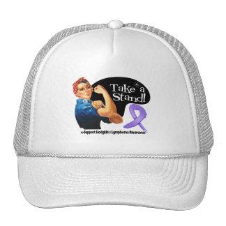 Hodgkins Lymphoma Take a Stand Trucker Hats