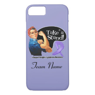 Hodgkins Lymphoma Take a Stand iPhone 7 Case