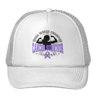 Hodgkin's Lymphoma Tough Survivor Trucker Hat