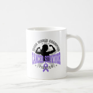 Hodgkin's Lymphoma Tough Survivor Classic White Coffee Mug
