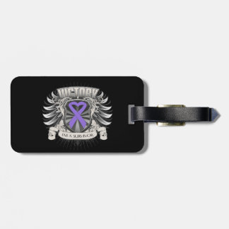 Hodgkins Lymphoma Victory Tag For Luggage