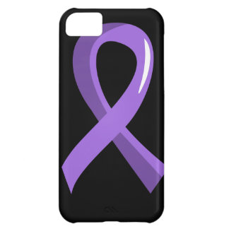 Hodgkin's Lymphoma Violet Ribbon 3 Case For iPhone 5C