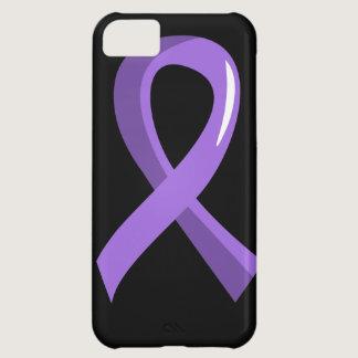 Hodgkin's Lymphoma Violet Ribbon 3 Case For iPhone 5C