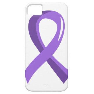 Hodgkin's Lymphoma Violet Ribbon 3 iPhone SE/5/5s Case