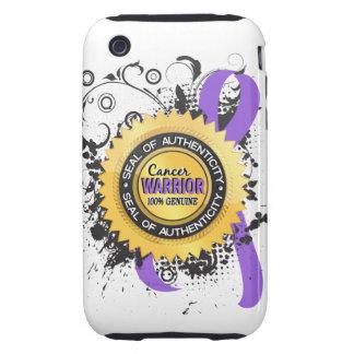 Hodgkin's Lymphoma Warrior 23 iPhone 3 Tough Cases