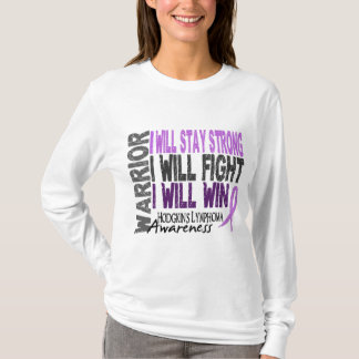Hodgkins Lymphoma Warrior T-Shirt