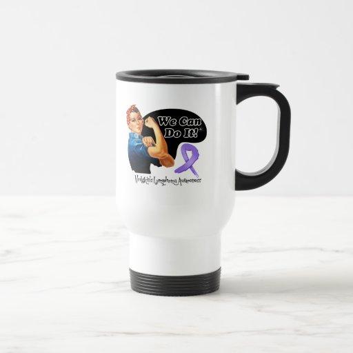 Hodgkins Lymphoma We Can Do It Rosie The Riveter Mug