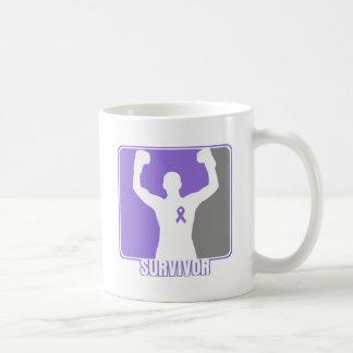 Hodgkin's Lymphoma Winning Survivor Classic White Coffee Mug