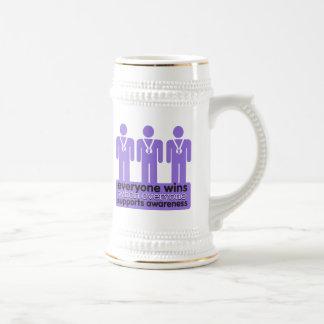 Hodgkins Lymphoma Wins With Awareness Coffee Mugs