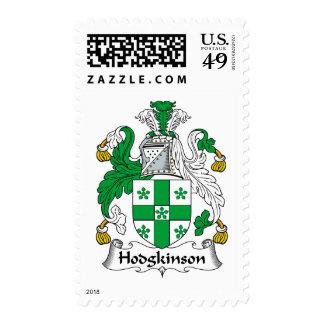 Hodgkinson Family Crest Stamps