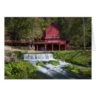 Hodgson Water Mill Landscape Card