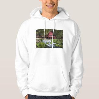 Hodgson Water Mill Landscape Hoodie