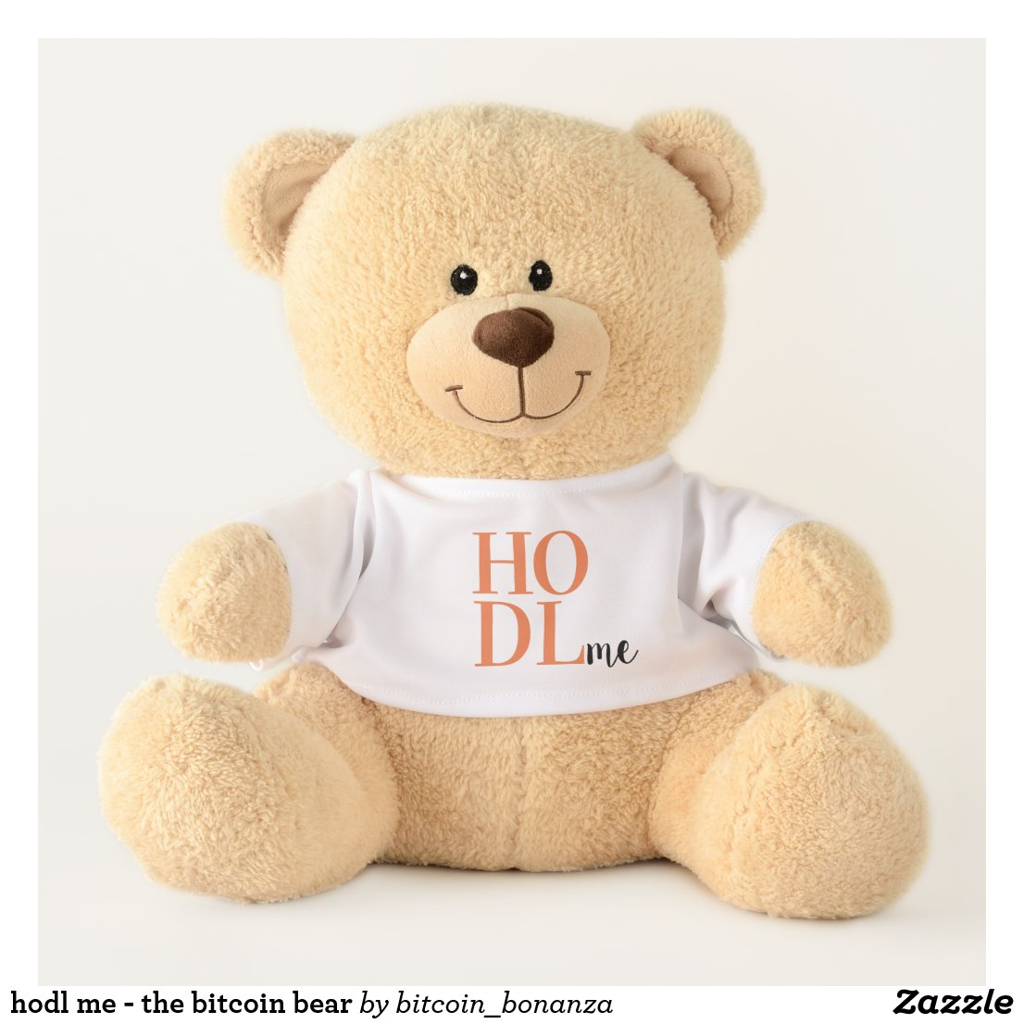 hodl me - the bitcoin bear