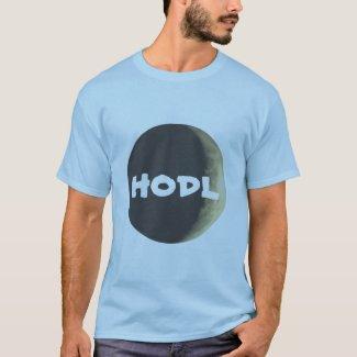 HODL moon crypto tshirt