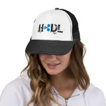 HODL Ripple Trucker Hat
