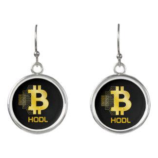 HODL your bitcoin Earrings