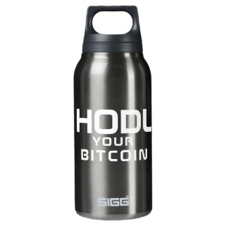 HODL your bitcoin Insulated Water Bottle