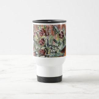 Hodler: Pansies, Art Travel Mug