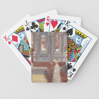 Hodler-Rezo de Fernando en la catedral de St Pierr Baraja Cartas De Poker