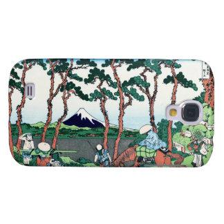 Hodogaya en el Tokaido Katsushika Hokusai Carcasa Para Galaxy S4