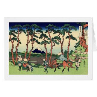 Hodogaya en el Tōkaidō Tarjeta Pequeña