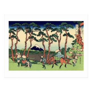 Hodogaya en el Tōkaidō Tarjeta Postal
