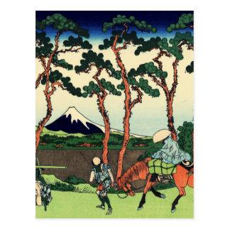 Hodogaya on the Tokaido Postcard