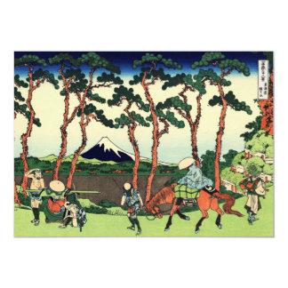 Hodogaya on Tokaido 5x7 Paper Invitation Card