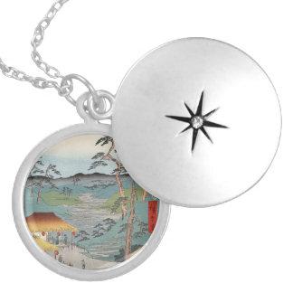 Hodogaya Round Locket Necklace
