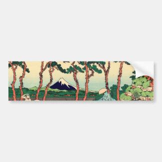 Hodogoya on the Tokaido Bumper Sticker
