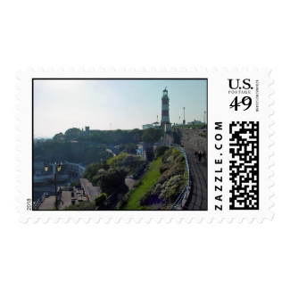 Hoe Approach & Smeaton's Tower, Plymouth Stamps