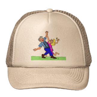 Hoe Down Square Dancers Trucker Hat