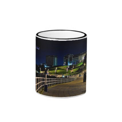 Hoe Seafront by Night, Plymouth Mugs
