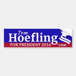 Hoefling for President bumper sticker
