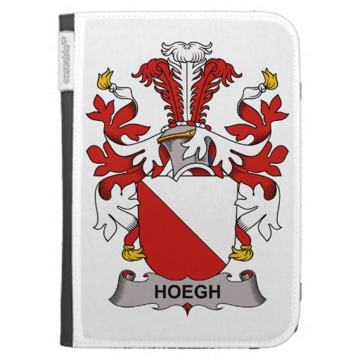 Hoegh Family Crest Kindle Covers
