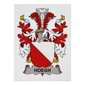 Hoegh Family Crest Poster