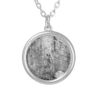 Hoestkveld Bokskap by Theodor Severin Kittelsen Round Pendant Necklace