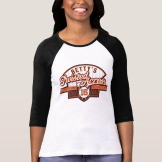 HOF16 Ladies 3/4 Sleeve Raglan (Fitted) Tee Shirt