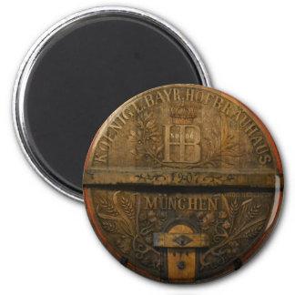 Hofbrauhaus 2 Inch Round Magnet