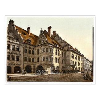 Hofbrauhaus, obra clásica Phot de Munich, Baviera, Tarjetas Postales