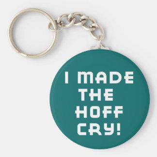 Hoff Cry Dark Keychain