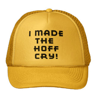 Hoff Cry Hat